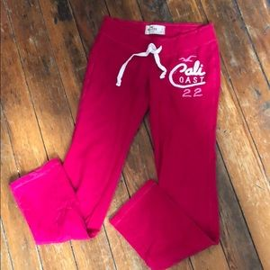 Hollister Pink Sweatpants